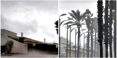Fin de semana con probables precipitaciones