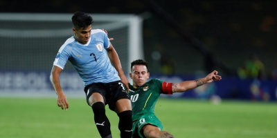 Uruguay perdió 3-2 ante Bolivia