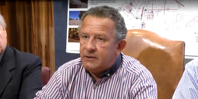 """El Intendente de Artigas Pablo Caram dijo en conferencia de prensa que """"el informe de la JUTEP es falso e injurioso"""""""