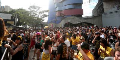Unas 400 personas detenidas el fin de semana en el precarnaval en Sao Paulo