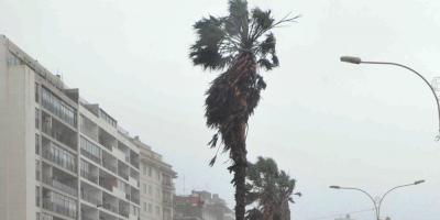 El Inumet emitió advertencia por vientos fuertes y persistentes