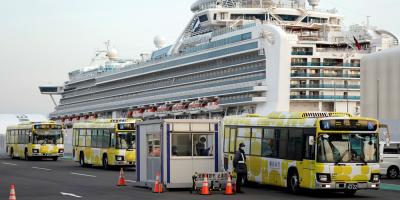Concluyó el libre desembarco de pasajeros de crucero en Japón tras cuarentena