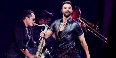 Ricky Martin fue la principal atracción en la primera noche de Viña del Mar