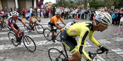 El ciclista del Club Armonía de Fray Bentos, Sebastián Rodríguez, ganó este miércoles la cuarta etapa de Rutas de América