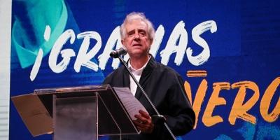 Frente Amplio rindió homenaje a Tabaré Vázquez