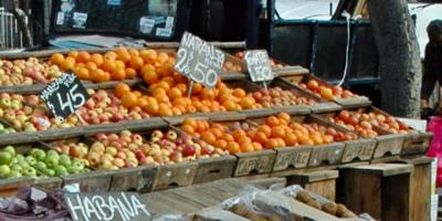 La falta de lluvias golpea la producción hortifrutícola