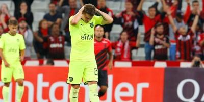 Libertadores: Peñarol cayó ante el Paranaense