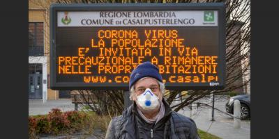 Los muertos con coronavirus en Italia suben a 197, nueve más en un mismo día
