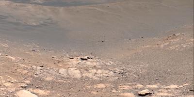 El robot Curiosity muestra una vista panorámica de Marte con 1800 millones de píxeles