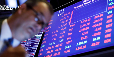 Wall Street se hundía y debió cerrar 15 minutos ante el pánico por el avance del coronavirus y por el precio petróleo