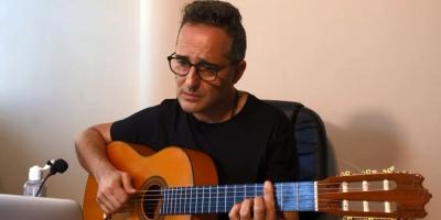 El músico Jorge Dréxler compuso una canción inspirada en particular saludo por Coronavirus