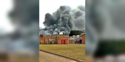 Un trabajador murió durante un incendio en un depósito de Conaprole en San Ramón, Canelones