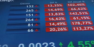Bolsa de Sao Paulo vuelve a interrumpir sus negocios tras perder más de 10 %