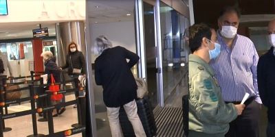 Coronavirus: Llegó primera tanda de uruguayos varados en Perú