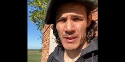 Cavani pide a uruguayos que aprendan de los errores europeos con el COVID-19