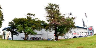 Personas en situación de calle fueron alojadas en instalaciones del estadio Centenario