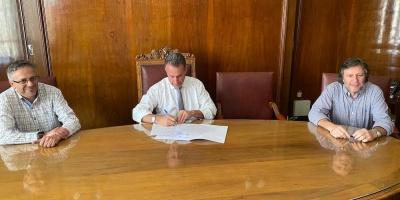 Se firmó el convenio para usar los nuevos kits de diagnóstico de Covid-19