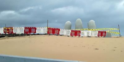 Montevideo, Canelones, Maldonado y Rocha cierran sus playas para evitar el contagio de coronavirus