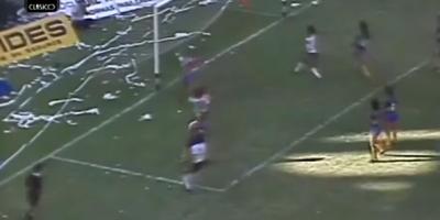 Argentina: A 34 años del superclásico de la pelota naranja