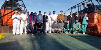 112 pasajeros australianos y neozelandeses del crucero Greg Mortimer serán repatriados el sábado en un operativo especial