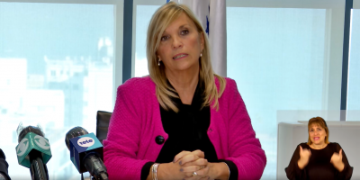 La vicepresidente Beatríz Argimón dijo que aún no se fijó una fecha para enviar el proyecto de Ley de Urgente Consideración al Parlamento