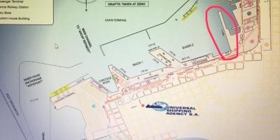 El detalle de la evacuación del crucero Greg Mortimer desde el Puerto de Montevideo