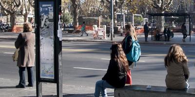 Inician las desinfecciones en espacios públicos de Montevideo