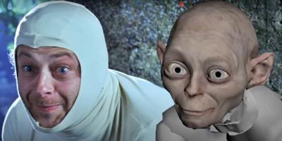 """""""Gollum"""" leerá """"El hobbit"""" en directo en internet para recaudar fondos"""