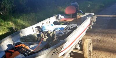 Prefectura detuvo a varias personas con mercadería de contrabando en Salto