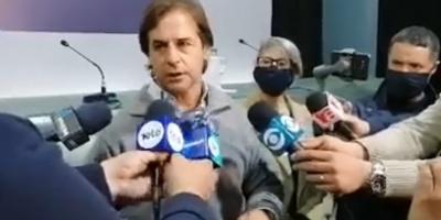 """El presidente dijo que se va """"tranquilo"""" de Rivera porque """"se está haciendo un uso responsable de la libertad"""""""