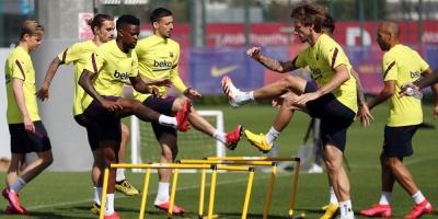 """Lenglet: """"A jugadores como Messi o Griezmann les va a venir bien"""""""