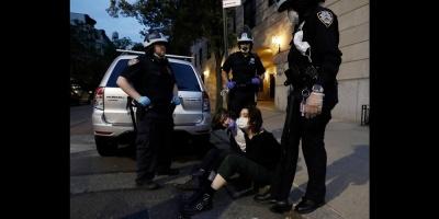 Nueva York aplaude protestas pacíficas y pide salir lo justo hasta reapertura