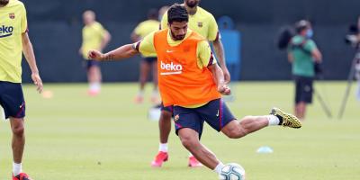 """Luis Suárez: """"Me encuentro muy bien"""" tras superar lesión en rodilla"""