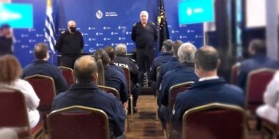 Interior reconoció trabajo de policías en investigación por crimen de infantes