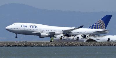 United Airlines reanuda vuelos entre EEUU y China tras suspensión en febrero