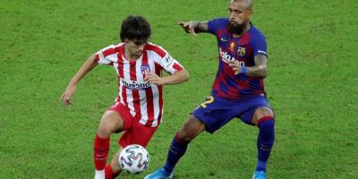 Griezmann y Joao Félix, suplentes en el Camp Nou