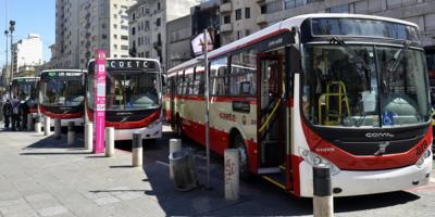 Transporte: trabajadores de las cooperativas se movilizaron en rechazo a baja salarial