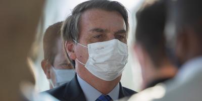 El presidente Jair Bolsonaro dio positivo en el test de coronavirus COVID-19