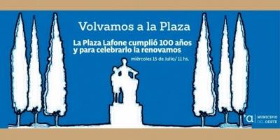 El municipio A de Montevideo celebra los 100 años de La Plaza Lafone de La Teja