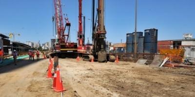 El Sindicato de la Construcción se movilizó frente a Torre Ejecutiva en reclamo que se convoque a los Consejos de Salarios del sector