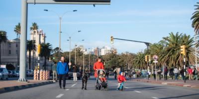 """La IM piensa en extender el espacio """"sin motores"""" a otros parques públicos desde setiembre"""
