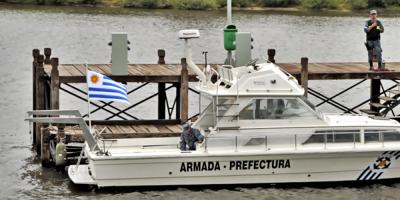 La Armada Nacional detectó 19 barcos brasileños pescando de forma ilegal a la altura del Chuy en Rocha