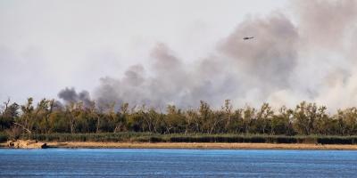 Humo de incendios en delta del Paraná llega a Buenos Aires y cubre la ciudad