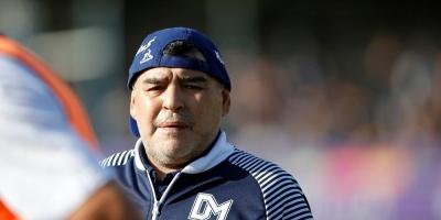 Maradona entrena a Gimnasia por primera vez desde la vuelta a las prácticas