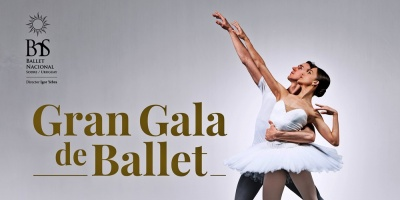 """El Sodre presenta """"Gran Gala de Ballet"""" en el Auditorio Dra. Adela Reta del 19 de setiembre al 4 de octubre"""