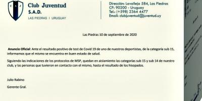 Detectan caso de Covid 19 en Juventud de Las Piedras