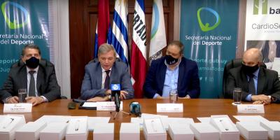 Secretaría Nacional del Deporte recibió donación de 20 electrocardiógrafos