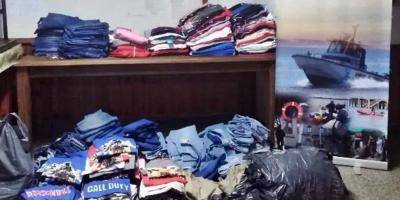 La Prefectura de Salto incautó mercadería valuada en $ 443.040