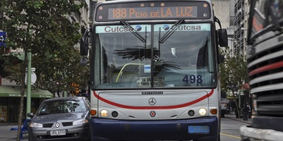 El transporte urbano, suburbano e interdepartamental detendrá los servicios desde la tardecita del miércoles