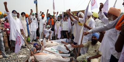 Masivas protestas en la India por las polémicas reformas agrícolas